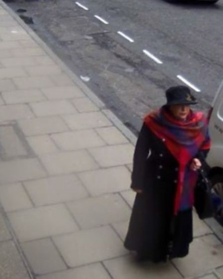 Lulu Lakatos outside Boodles in Mayfair where she stole diamonds worth £4.2m without staff noticing