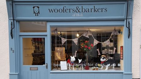 Woofers and Barkers in Holt is preparing to celebrate its second anniversary