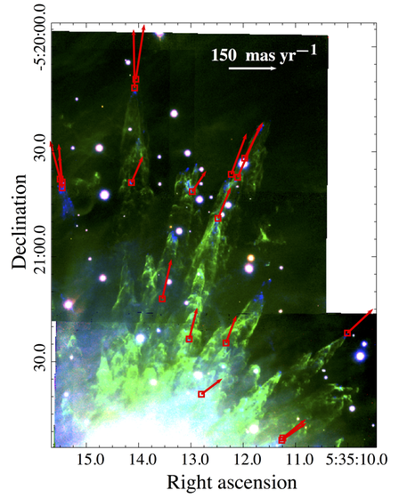 Radio signals identified in the Orion clusterby JiameVargas-González andcollaborators.