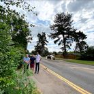 Residents Ian, Neil and James are all objecting to the proposed 5G mast on the corner of North Road and Coreys Mill Lane
