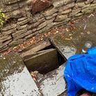 Blind man injured after pavement collapse in Nailsea