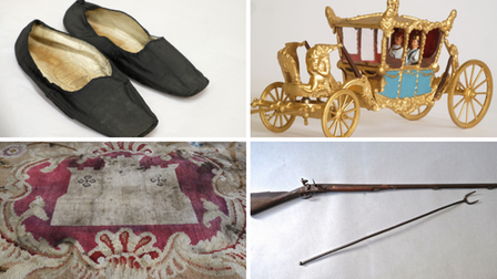 Some of the items on display at the exhibition in Barnstaple