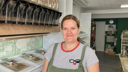 Lucy Storey has opened the zero-waste shop Lucy's Unwrapped & Refill in Woodbridge Road,Ipswich.