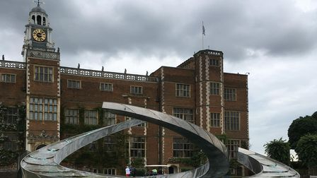 The North Front of Hatfield House.