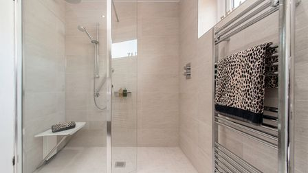 Hitchin Showroom can design wet rooms to suit any requirements.