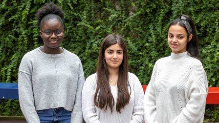 Kadija Jatta, Cemre Dirik and Channay Butler-Revell have all won scholarships to top fee paying schools.