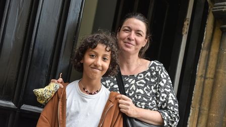 10-year-old, Aicha Lees-Dem with her mum, Daisy
