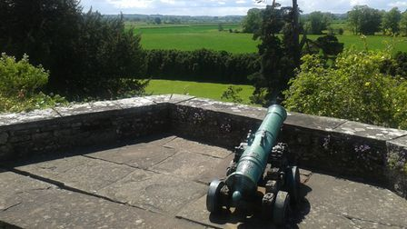 View from Berkeley Castle towards the Severn