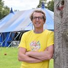 Derek Robertson, one of the organisers of Laugh In The Park 2021.