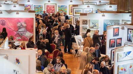 Art Fair East is returning for 2021 in December.Pictured here in 2018.