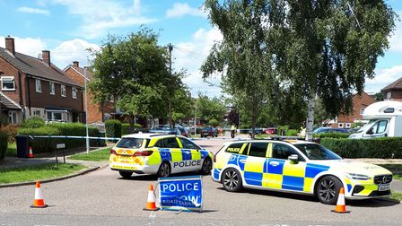 Police removed ammunition found in Thirlmere Drive, St Albans