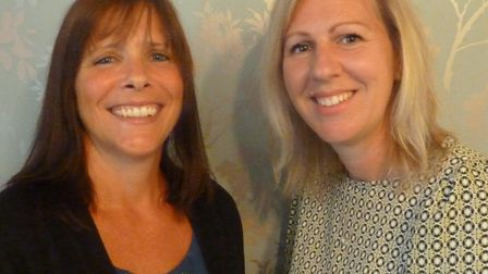 Co-founders of Keepers Gate Forest School, Nicky Lewis and Rachel Landen.