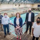 Hackney councillors at Lower Clapton's King's Hall leisure centre.