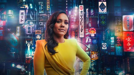 Former Strictly contestant Alex Scott MBE is currently presenting BBC's coverage of the Tokyo 2020 Olympic Games.