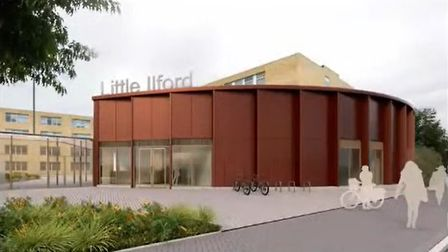 The plans include a new reception area.