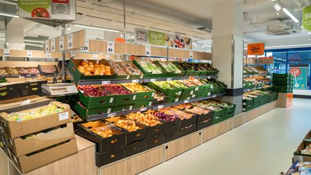 A new range of produce is being stocked in the Lidl