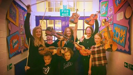 One lucky young musician will be able to attend the four-day music masterclass at Meppershall Village Hall for free