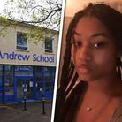 Imade, 15, has spoken out about the racism she's experienced at Thorpe St Andrew School in Norwich