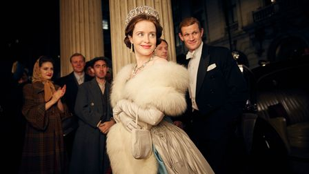 Claire Foy as Elizabeth in the first series of The Crown