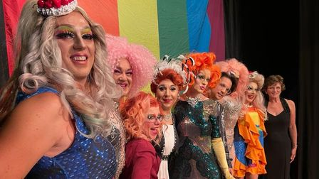 Performers for the Norwich Pride 2021 live streamed show.