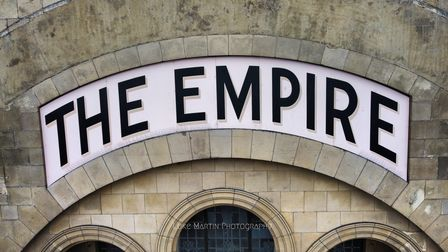 The Empire sign.