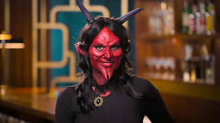 Emma as Demon in Netflix show Sexy Beasts.