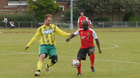 Ruel Fox combined with Chris Sutton for the opening goal Picture: Danielle Booden