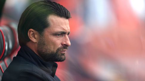 Milton Keynes Dons' manager Russell Martin during the Carabao Cup first round match at the Vitality