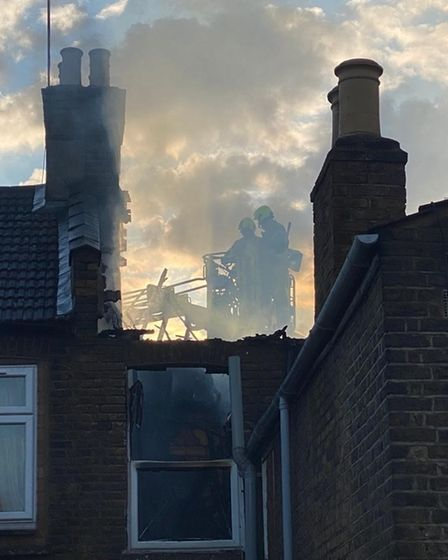 fire in upton park