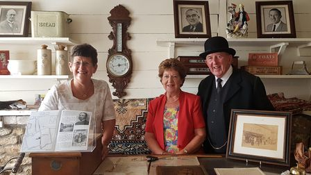 Left to Right:Margaret Bailey, Diana Hyde and Richard Hyde.