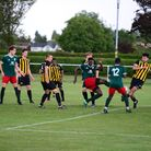 Sporting Bengal United in action against Southend Manor
