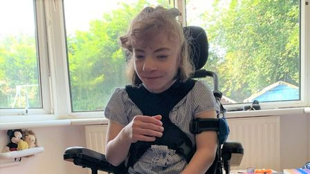 Just over £6,000 was donated bykind members of the public for Ellamae Coy's new wheelchair.