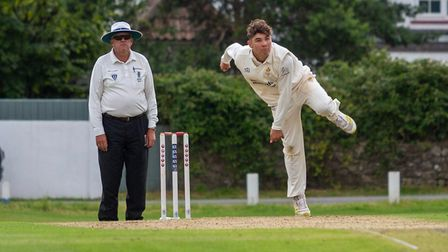 Tyler Leaman took three wickets as Clevedon beat Lansdown