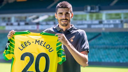 Who is next in the door at Norwich City after Pierre Lees-Melou?