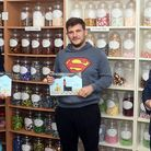MP Steve Barclay and Mayor of Wisbech Andrew Lynn at Woodward's Confection during their anti-incinerator campaign