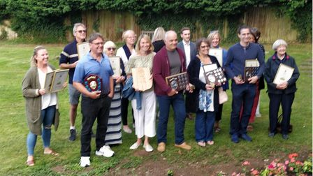 The winners of Stansted In Bloom 2021