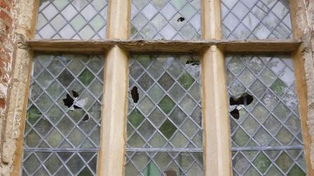 People from far and wide came to help after the Church of St Mary Magdalene in Caldecote was vandalised