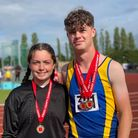 Zoe and PatrickMcLean-Tattan of Havering AC