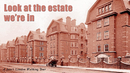 Walking tour - Look At The Estate We're In – is about philanthropy and social housing