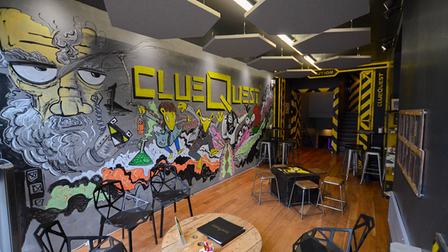 Escape room clueQuest in Caledonian Road