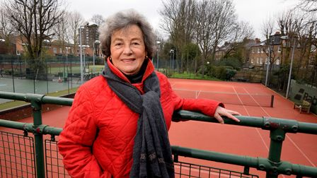 Anna Lee, president of The Globe Tennis Club in Haverstock Hill. Picture: Polly Hancock