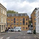 Furlong Road at the junction with Holloway Road, where a new right turn ban is due to be introduced by Islington Council
