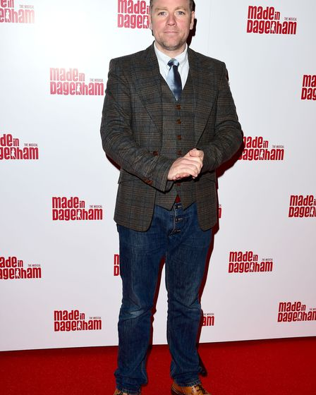 Rufus Hound attending the opening night of Made In Dagenham at the Adelphi theatre in central London