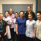 A group of Whittington Health Emergency Department staff before the pandemic