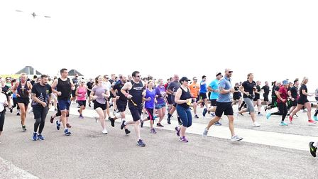 The first Parkrun at Lowestoft heldon July 24, withthe weekly event restarting having previously been held in March 2020.