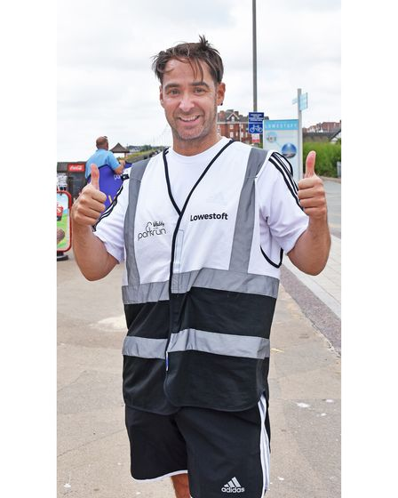"""Rob Fawcett, event director at Lowestoft parkrun, said: """"It's really great to be back."""""""