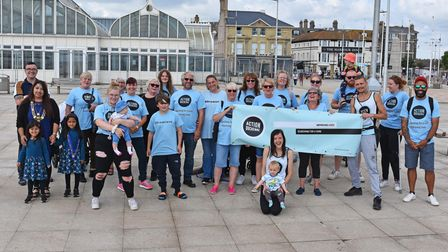 A sponsored walk, organised bythe familyofDrew Denny,raised funds and awareness of the Action Duchenne charity.