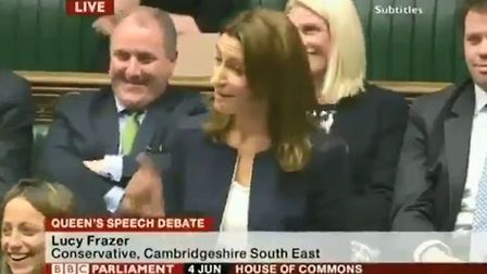 Tory MP Lucy Frazer joking that Scots should be sent to the 'colonies' as slaves, a comment she late