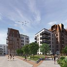 A CGI visualisation of the proposals for BioPark. Picture: HG Group