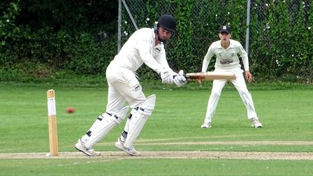 George McEndoo gave vital support to Jack Moore during North Devon's win over Torquay